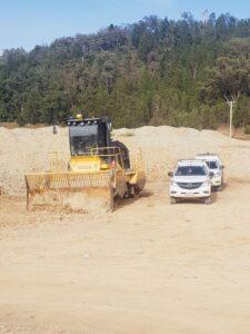 TANA Trimble CCS900 Visionlink Mid West Regional Council landfill